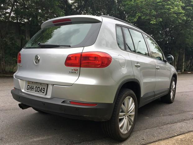 Volkswagen Tiguan (Foto: André Paixão/G1)