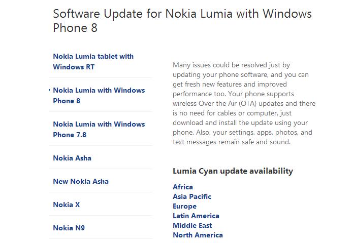Busque aparelhos da América Latina (Foto: Reprodução/Nokia)