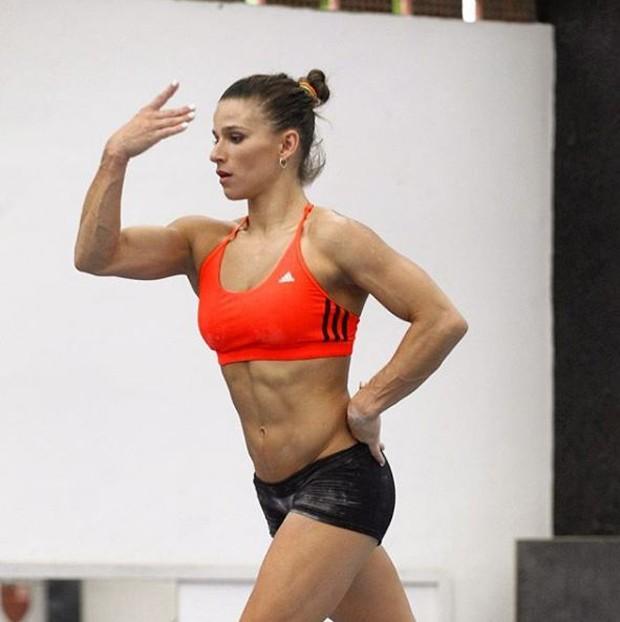 Jade Barbosa treinando  (Foto: Reprodução/Instagram)
