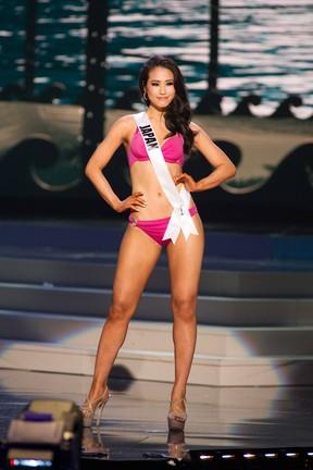 Miss Universo - Japão - Keiko Tsuji (Foto: Reuters)