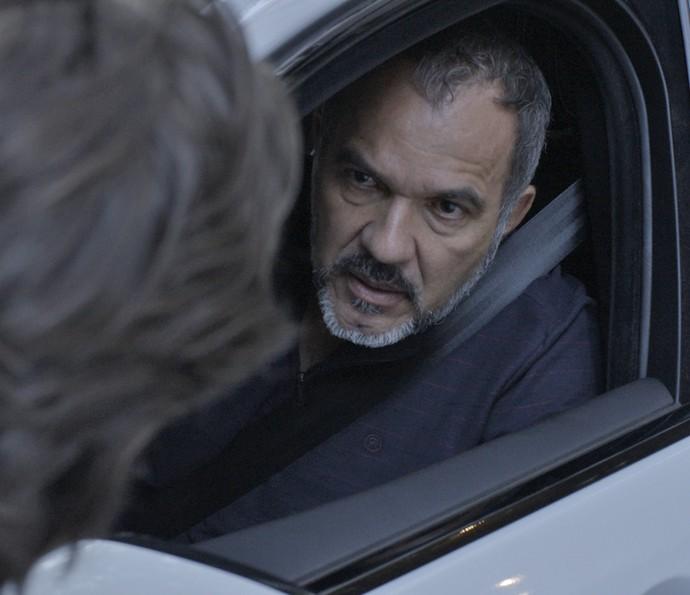 Germano discute com Rafael (Foto: TV Globo)