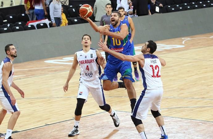 Brasil x Paraguai Sul-Americano basquete Olivinha (Foto: Divulgação/Fiba América)