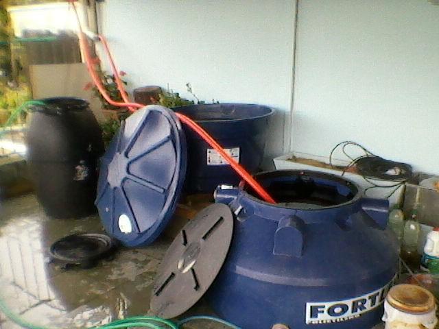 Moradores de Itu e Sorocaba usam criatividade para economizar água  (Foto: Arquivo pessoal/ Luís Roberto Exner)