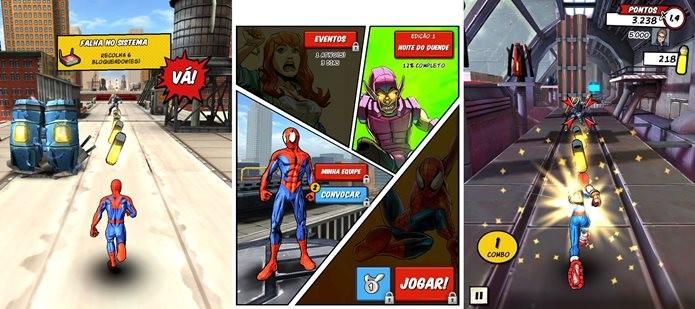 Novo jogo do Homem-Aranha para Android (Foto: Reprodução / Dario Coutinho)