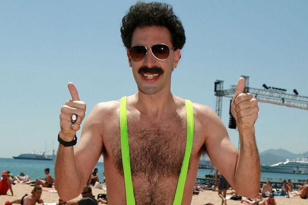 Sacha Baron Coen como Borat (Foto: Divulgação)
