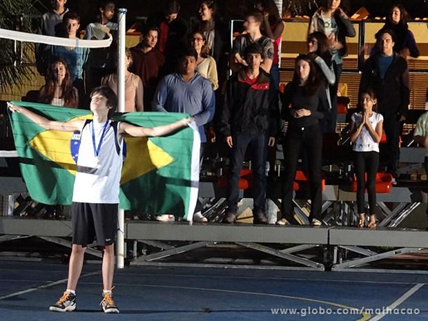 Vitor sonha com seu momento de glória nas quadras (Foto: Malhação / TV Globo)