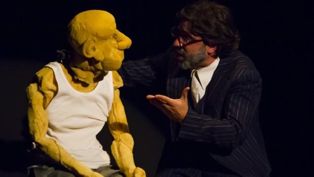 El Titiritero de Banfield apresenta espetáculo com bonecos, em Curitiba (Foto: Divulgação)