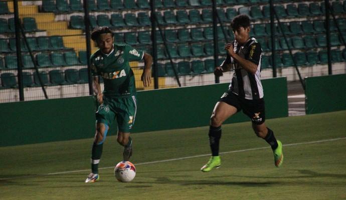 Apodi Chapecoense contra o Figueira (Foto: Cleberson Silva/Chapecoense)