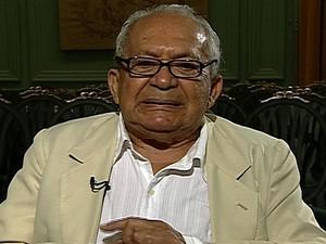 Morre aos 86 anos o escritor Lêdo Ivo (Foto: Reprodução Globo News)