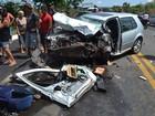 Bebê morre e duas pessoas ficam feridas após colisão na BR-343