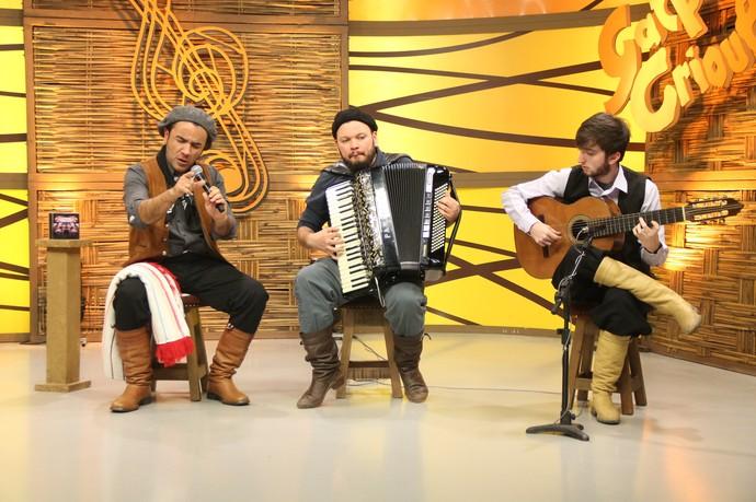 Marcos Lázaro Galpão Crioulo (Foto: Divulgação/RBS TV)
