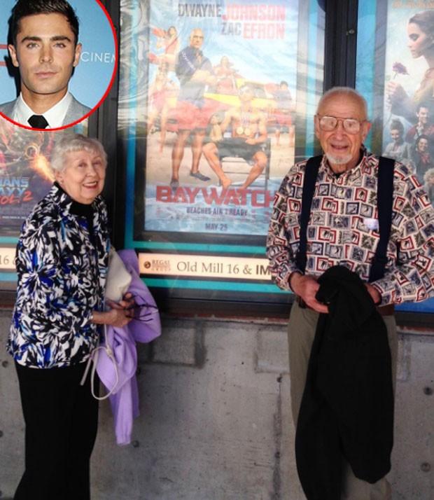 Os avós de Zac Efron  (Foto: Reprodução)