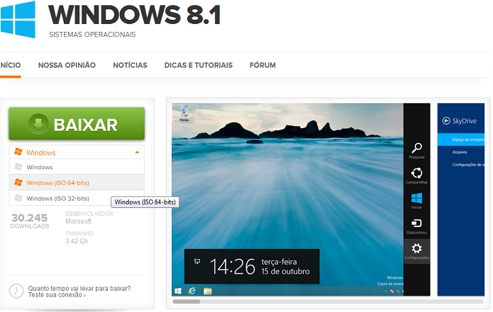 Como instalar o Windows 8.1 via USB com um pendrive ...