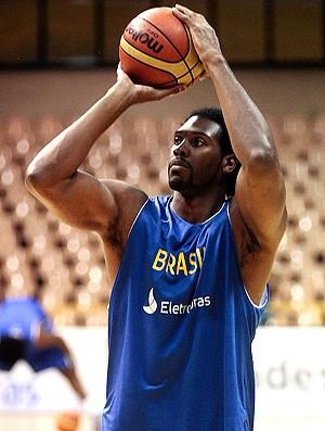 basquete nene brasil treino (Foto: Gaspar Nobrega / CBB)
