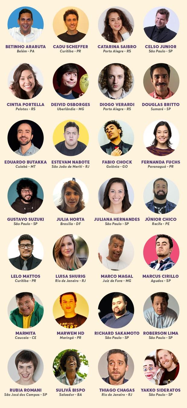 Prmio Multishow de Humor 2017 (Foto: Multishow)