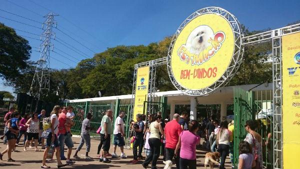 Estimacão começa no Parque da Uva em Jundiaí (Foto: Adriana Pellegrino )