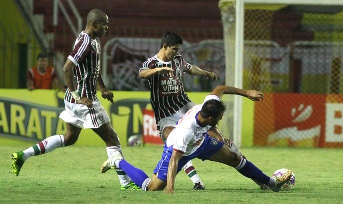 Henrique e Victor Oliveira, Fluminense x Friburguense (Foto: Nelson Perez / Flickr do Fluminense)