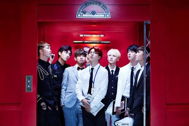 BTS, boyband coreana de kpop (Foto: Reprodução/Facebook)