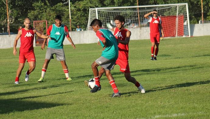 América-RN jogo-treino CT Parnamirim (Foto: Canindé Pereira/América FC)