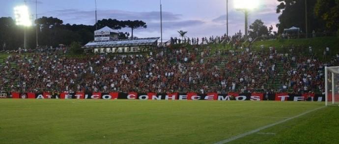 Atlético-PR Ecoestádio Janguito Malucelli (Foto: Site oficial do Atlético-PR/Divulgação)
