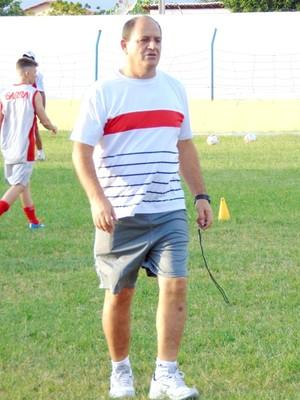 Edson Porto - técnico do Potiguar de Mossoró (Foto: Marcelo Diaz/Divulgação)