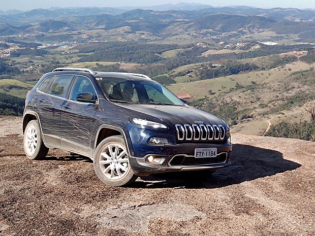 Jeep Cherokee Limited 2015 (Foto: Peter Fussy/G1)