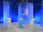 Candidatos de Ribeirão, SP, chegam para participar do debate da EPTV
