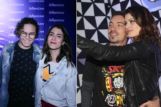 Di Ferrero, Isabeli, Maria Gadú e Lua Leca (Foto: Iwi Onodera/ EGO)