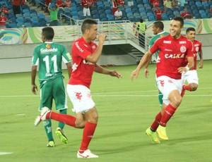 Zé Antônio e Júnior Timbó - América-RN (Foto: Canindé Pereira/América FC)
