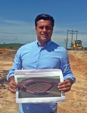 Cláudio Pereira, prefeito de Três Corações (Foto: Régis Melo)