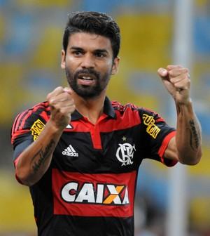 Eduardo da Silva gol Flamengo x Cabofriense (Foto: André Durão / Globoesporte.com)