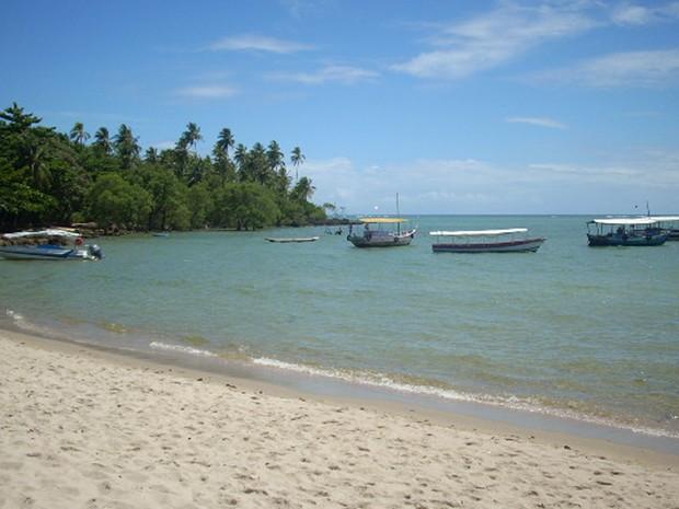 'Um dos recantos mais belos do litoral baiano', diz o leitor sobre a Ilha de Boipeba.  (Foto: Luiz Alberto Guimaraes Darbra/VC no G1)