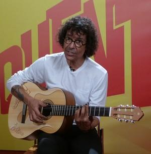 Aprenda com Luiz Caldas o sucesso 'Fricote' (Esquenta! / TV Globo)