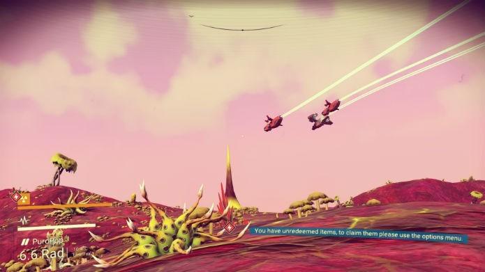 Renomeie os planetas que você descobrir em No Mans Sky (Foto: Reprodução/André Mello)