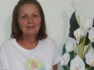 Romeira Maria de Fátima participa há cerca de 18 anos (Foto: Anna Patrícia/Arquivo pessoal)