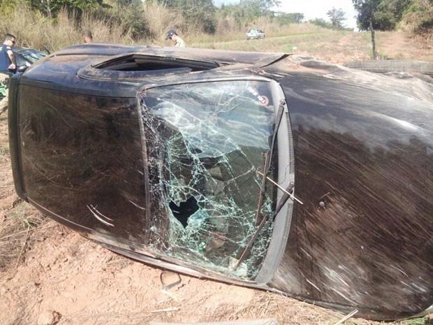Acidente aconteceu na BR-242, no sul do Tocantins (Foto: Divulgação)