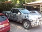 Chevrolet S10 com cabine estendida é flagrada no interior de São Paulo