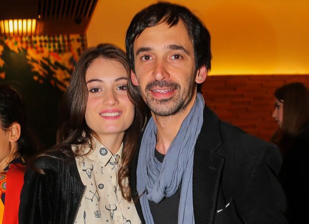 Julio Andrade e a mulher, Kelly (Foto: Manuela Scarpa/Brazil News)