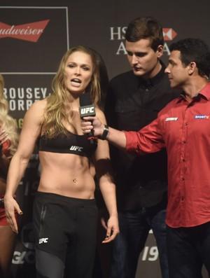 UFC 190 pesagem: Ronda Rousey