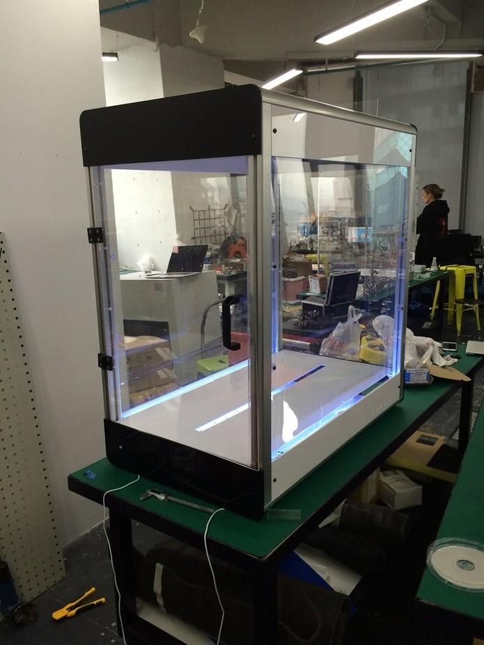 Esta é a Electroloom, impressora 3D que permite fazer roupas (Foto: Divulgação/Kickstarter)