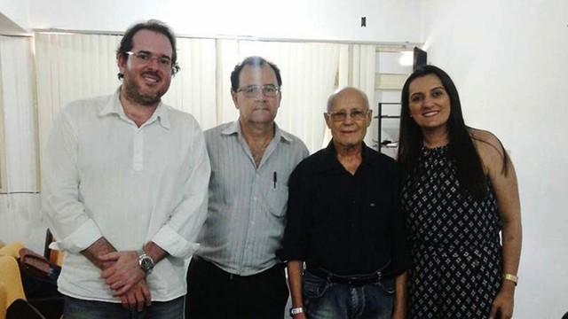 Djalma Araújo, 93 anos, conluiu curso de Direito, na UEPB, em Guarabira, na Paraíba. (Foto: Juliana Linhares / UEPB)