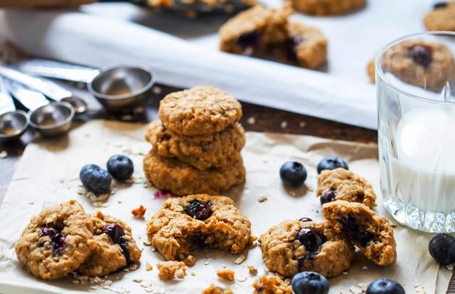 Cookie integral de mirtilo  (Foto: Divulgação)