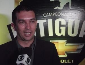 Alan Oliveira, diretor de empresa que gerencia marketing do Campeonato Potiguar (Foto: Augusto Gomes/GLOBOESPORTE.COM)