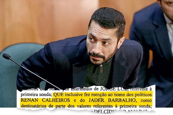 Trecho do depoimento do lobista Fernando Baiano. Mais de US$ 50 milhões escoaram pelo duto da corrupção (Foto: Geraldo Bubniak/AGB/Estadão Conteúdo)