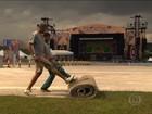Lollapalooza se prepara para possibilidade de chuva em SP
