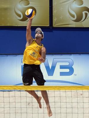 Bruno Schmidt no Grand Slam de São Paulo (Foto: Divulgação/FIVB)