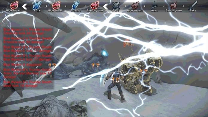 Gráficos datados e fontes padrão demonstra descuido na produção do game (Foto: Divulgação)