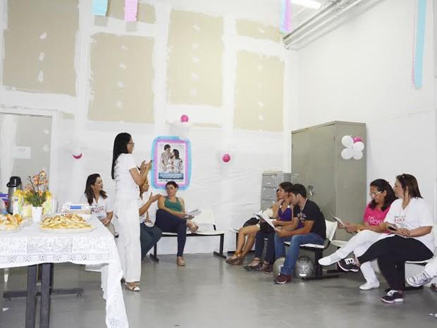 Mamaço promovido pelo Banco de Leite Humano de Presidente Prudente foi realizado na tarde desta quinta-feira (2) (Foto: Prefeitura Municipal de Presidente Prudente/Divulgação)