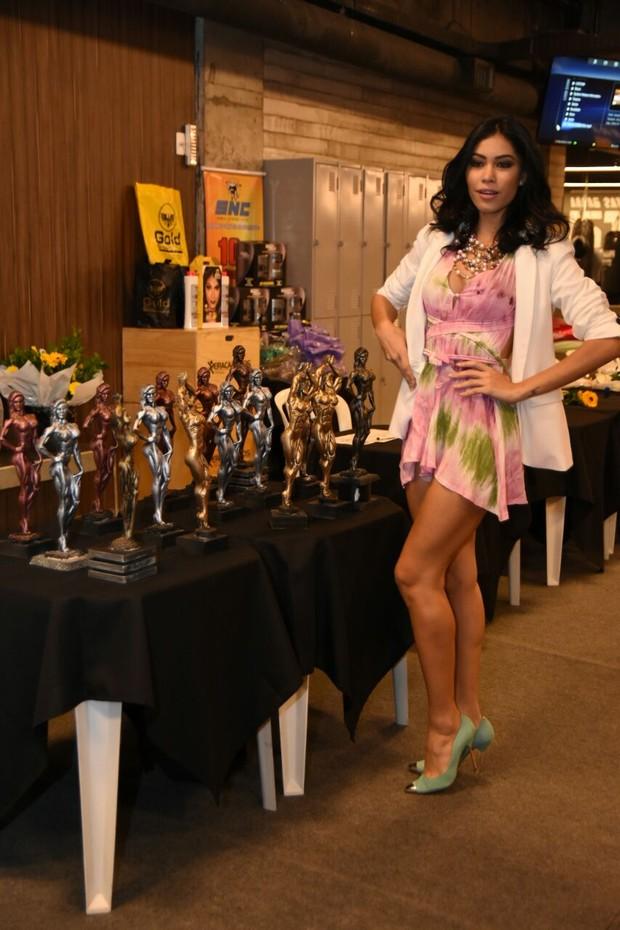 Sheyslane Hayalla  em concurso fitness (Foto: Vagner Souza / MF Models Assessoria )