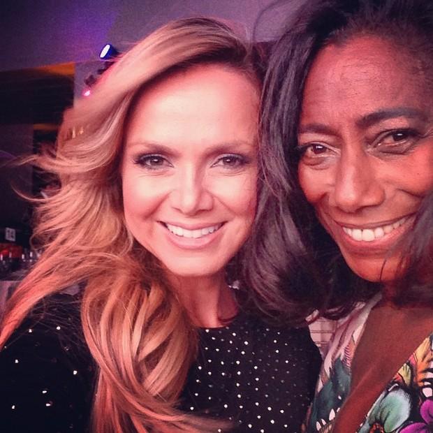 Eliana e Glória Maria no Brazil Foundations (Foto: Reprodução/Instagram)